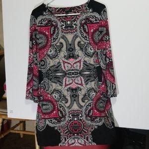 Alfani ladies L tunic top